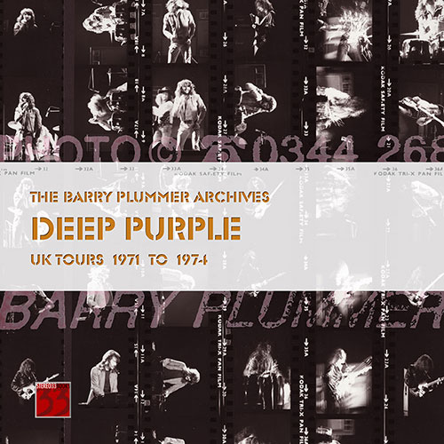 Deep Purple Barry Plummer photo book