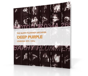 Deep Purple Barry Plummer archive book