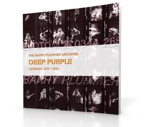 Deep Purple Barry Plummer archive book