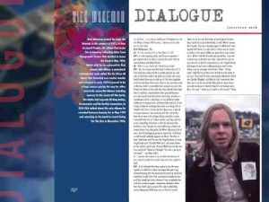 Yes Dialogue page still from video