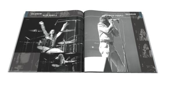 Deep Purple Barry Plummer photo book