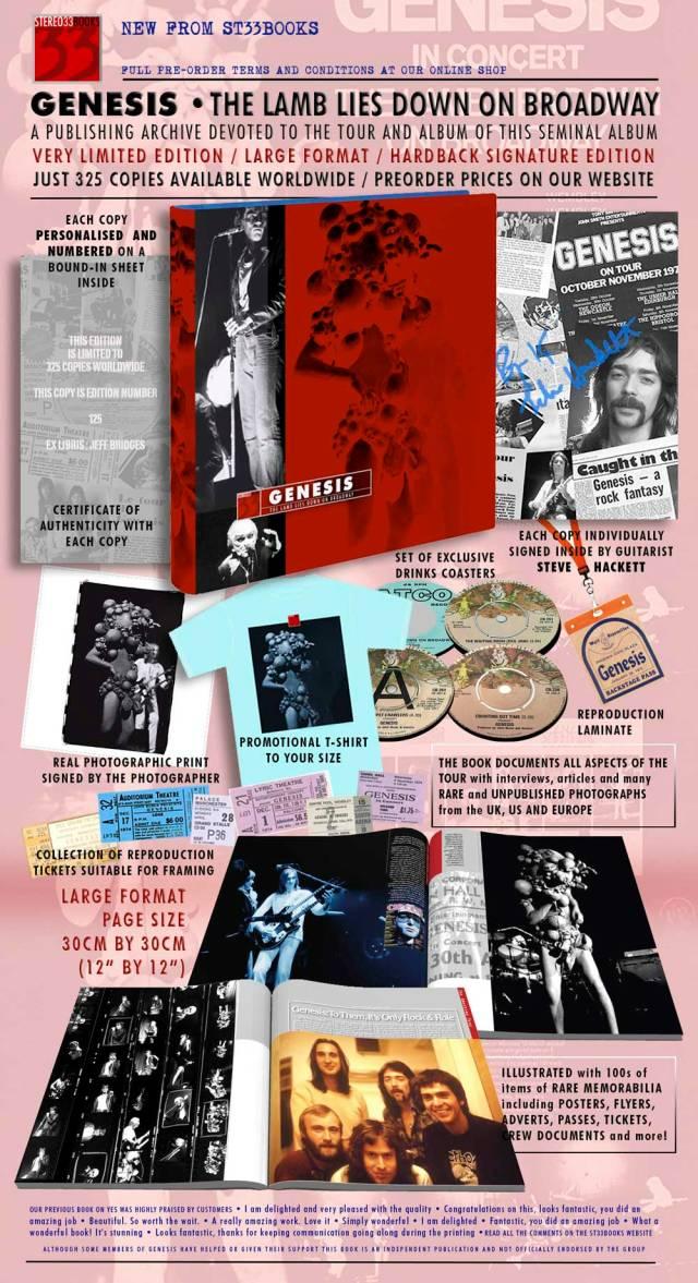 Genesis Stereo 33 Books flyer